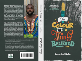 """The Cover of Bura-Bari Nwilo's """"The Colour of a Thing Believed"""""""